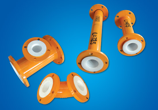 PTFE Steel-plastic Component Pipe